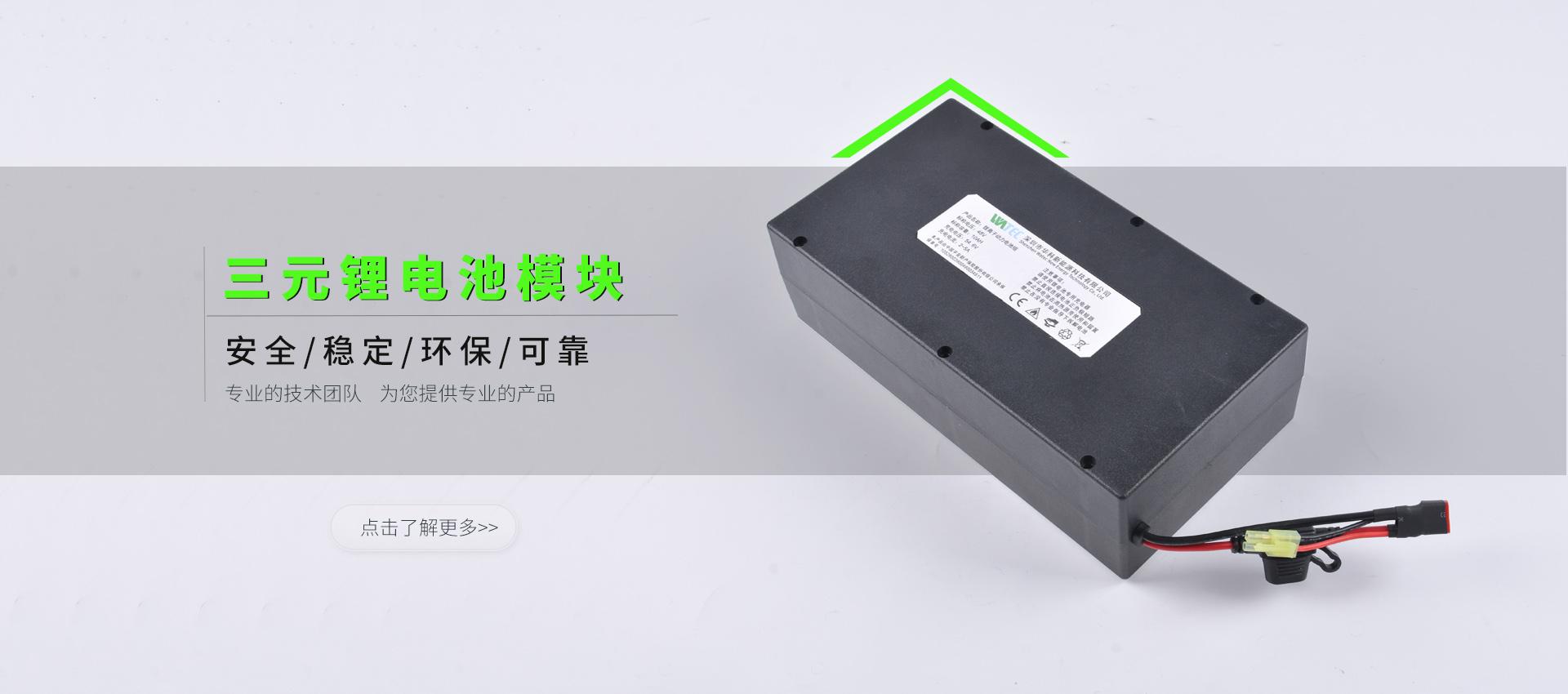三元锂电池模块
